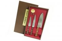 Набор ножей Tomoko Santoku из 3 шт. Satake