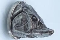 Навершие «Голова осетра» 156 (мельхиор)