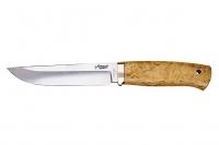 Нож Боровой (440C, карельская береза) Южный Крест, Россия