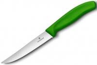 Нож для стейков Swiss Classic (зеленый) Victorinox