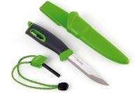 Нож для выживания с огнивом Swedish FireKnife (зеленый), Light my Fire, Швеция
