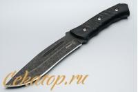 """Нож """"Катран"""" (черный клинок) Кизляр, Россия"""