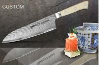 Нож многослойный Сантоку Custom Samura SCU-0095