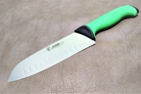 Нож Сантоку 180 мм 4818 TR (green) Jero, Португалия