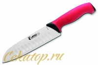 Нож Сантоку 180 мм 4818 TR (red) Jero