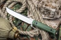 Нож Senpai  (AUS-8, Satin, OD-Handle) Kizlyar Supreme, Россия