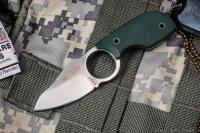 Нож шейный Amigo X (D2, Green G10) Kizlyar Supreme, Россия