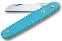 Нож складной садовый Floral (голубой) Victorinox