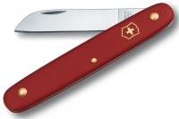 Нож складной садовый Floral (красный) Victorinox