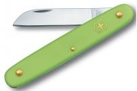 Нож складной садовый Floral (салатовый) Victorinox