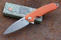 Нож «Шершень-3» (orange) Reptilian, КНР