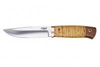 Нож Стерх (D2, береста) Южный Крест, Россия