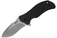 Нож складной 0350 StoneWash Carbon Fiber Zero Tolerance