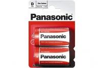 Батарейка тип D Zinc Carbon R20 Panasonic