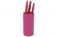 Подставка для ножей (розовая) 24943 Mayer&Boch