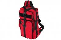 Рюкзак однолямочный Tawaho City 15 (RC красно-черный) Kiwidition