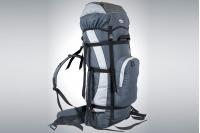 Рюкзак легкий туристический ПАРУС-80 (серый) ПИК-99, Россия
