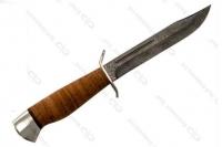 """Нож """"Штрафбат"""" АИР (Златоуст) с рукоятью из бересты"""