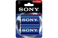 Батарейка тип D Stamina Plus AM1-B2D LR20 Sony