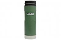 Термостакан Classic One Hand 0,47 л (зеленый) Stanley, США