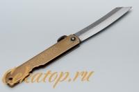 Традиционный японский складной нож Higonokami HKA-80YL