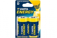 Батарейки тип D Energy 4120 LR20 Varta