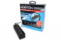Зарядная станция для телефонов и планшетов с 4 USB-портами PowerBox, Robiton