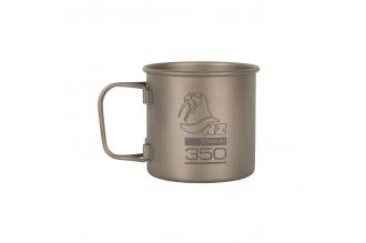 Кружка титановая 350 мл Titanium Cup