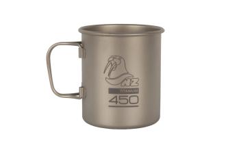 Кружка титановая Titanium Cup 450 ml TM-450FH NZ
