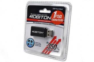 Адаптер для телефонов и планшетов USB Power Boost, Robiton