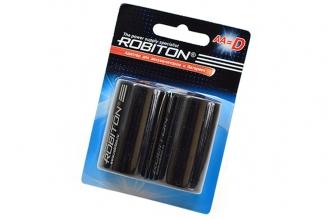 Адаптеры для элементов питания с AA на D, 2 шт., Robiton