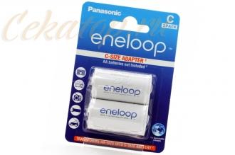 Адаптеры Eneloop (2 шт., с AA на C) Panasonic, Япония