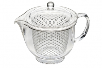 Чайник заварочный ударопрочный 0.48 л (серебряный) Akebono