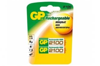 Аккумулятор 210AAHC-BL2 HR6 AA 2100 mAh (2 шт.), GP Batteries