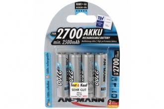 Аккумулятор 5030842 AA 2700 mAh (4 шт.), Ansmann, Германия