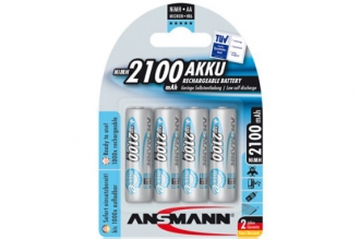 Аккумулятор 5035052 maxE AA 2100 mAh blue (4 шт.), Ansmann