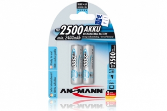 Аккумулятор 5035432 maxEplus AA 2500 mAh (2 шт.), Ansmann, Германия