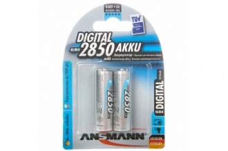 Аккумулятор Digital 5035082-RU AA 2850 mAh (2 шт.), Ansmann, Германия