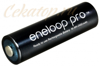 Аккумулятор Eneloop Pro AA 1 шт., Ni-Mh, 2450 mAh Panasonic, Япония