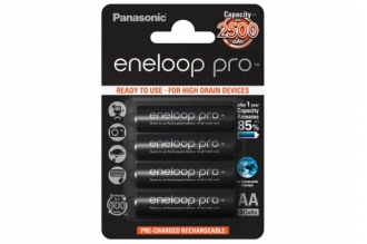 Аккумулятор Eneloop Pro AA (4 шт.) Panasonic