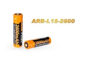 Аккумулятор Li-ion 18650 (3,6 В; 2600 мАч) ARB-L18-2600 Fenix