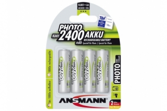 Аккумулятор Photo 5030482 AA 2400 mAh (4 шт.), Ansmann, Германия