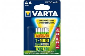 Аккумулятор Professional Accu 5706 AA 2700 mAh (2 шт.), Varta, Германия