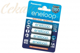 Аккумуляторы Eneloop AA (4 шт., Ni-Mh, 1900 mAh) Panasonic, Япония