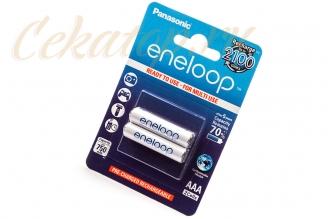 Аккумуляторы Eneloop AAA (2 шт., Ni-Mh, 750 mAh) Panasonic, Япония
