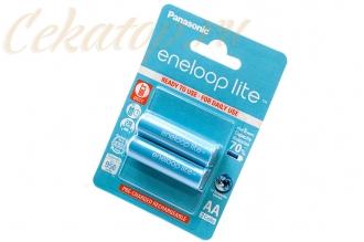 Аккумуляторы Eneloop Light AA (2 шт., Ni-Mh, 950 mAh) Panasonic, Япония