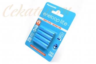 Аккумуляторы Eneloop Light AAA (4 шт., Ni-Mh, 550 mAh) Panasonic, Япония
