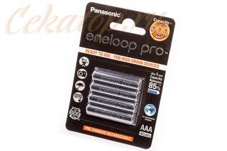 Аккумуляторы Eneloop Pro AAA (4 шт., Ni-Mh, 900 mAh) Panasonic, Япония