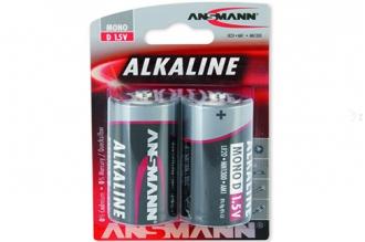 Батарейка тип D Red 1514-0000 LR20 Ansmann