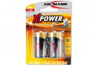 Батарейка тип C X-Power 5015623 LR14, Ansmann